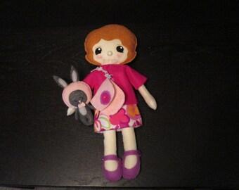 Cute Handmade Felt Baby Doll