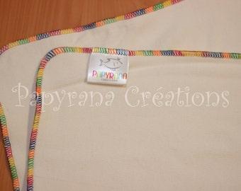 2 trifold kit / Cloth diaper insert / trifold insert / diaper insert / bamboo chloth diaper insert