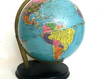 "Vintage World globe ""Replogle"""