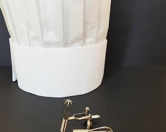 Working Whisk Cufflinks - YOU Are Top Chef