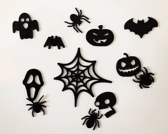 Scary Halloween & Spiders Magnets - 3D printed