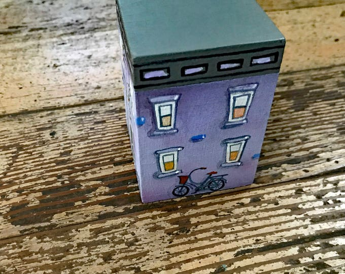 Custom Wooden Building Boxes | Buildings embellished with your pets  | Custom Creation for Birthdays, Anniversary, Holiday | Painted for You