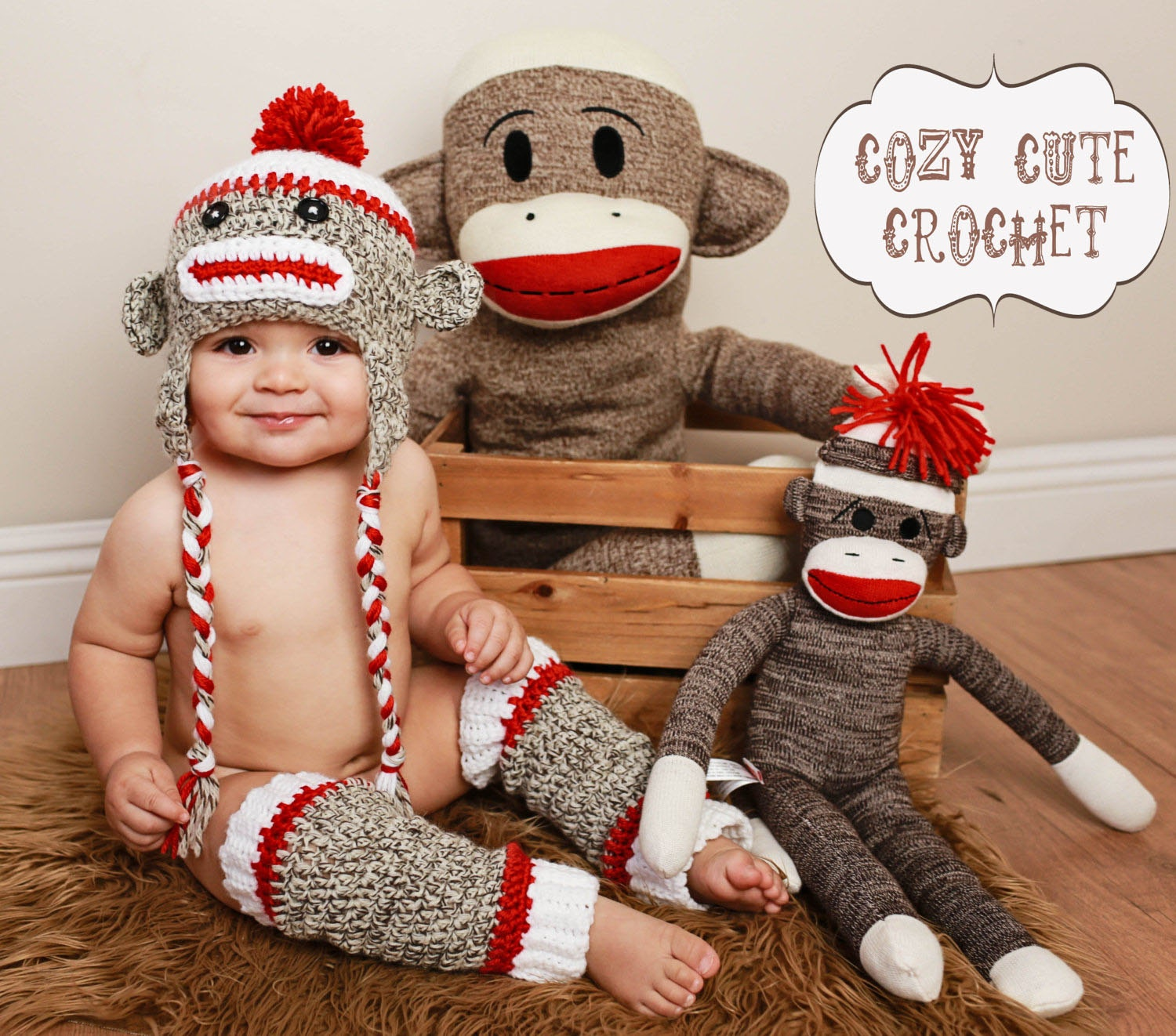 Awesome Ideas Of Baby sock Monkey Costume - Cutest Baby Clothing and ...