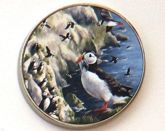 Puffin Fridge Magnet