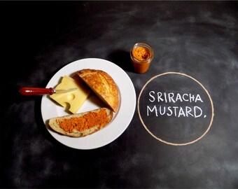 Two Caribou - Spicy Sriracha Mustard - Grilling Food Gift - Gourmet Mustard - Artisan Mustard