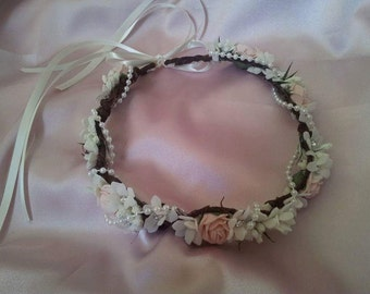 Flower crown, available most colours.