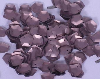 100 Sequins Pentagon..................Pastel Purple/KBPS519
