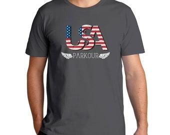 Usa Parkour T-Shirt