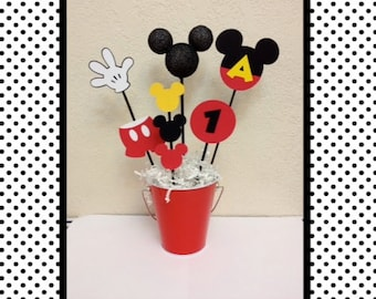 Mickey Mouse Birthday Centerpiece - or Baby Shower