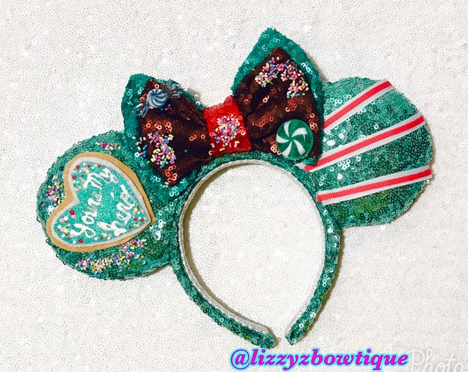 Wreck it Ralph Vanellope von Schweetz Sequin Minnie ears