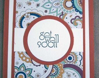 Handmade Get Well Soon Card; Stampin' Up! Get Well Card