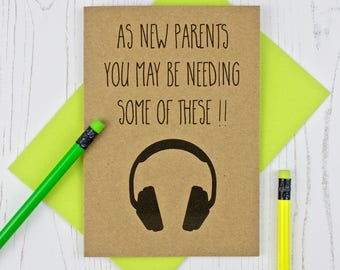 Funny New Parents Card