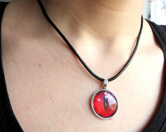 Women's necklace, fantasy necklace, Dragon Eye, men's necklace, pendant, Dragon's Eye pendant, fantasy, for him, for him,