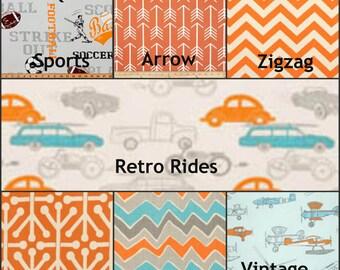 Premier Prints Orange Fabrics