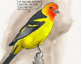 The Western Tanager