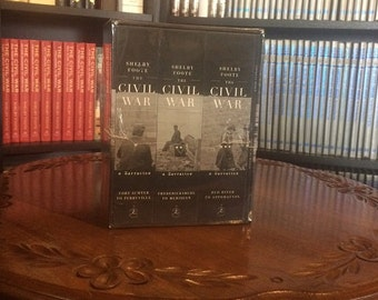Shelby Foote's The Civil War-A Narrative 3 volume hardcover box set (W/American Homer) (MINT) Sealed