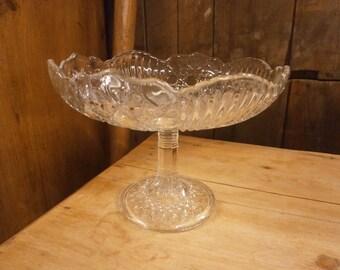 Pressed Glass Comort - Vintage