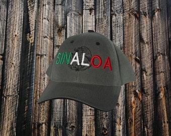Sinaloa, embroidered,hats,baseball hats,trucker hats