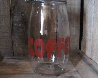 Funky Fun Retro Coffee Canister
