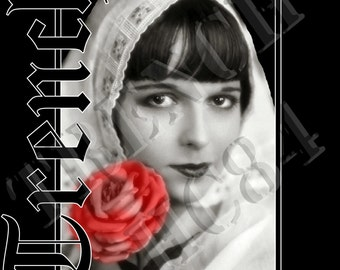 Trench Clothing Original Louise Brooks Mens Tee Shirt
