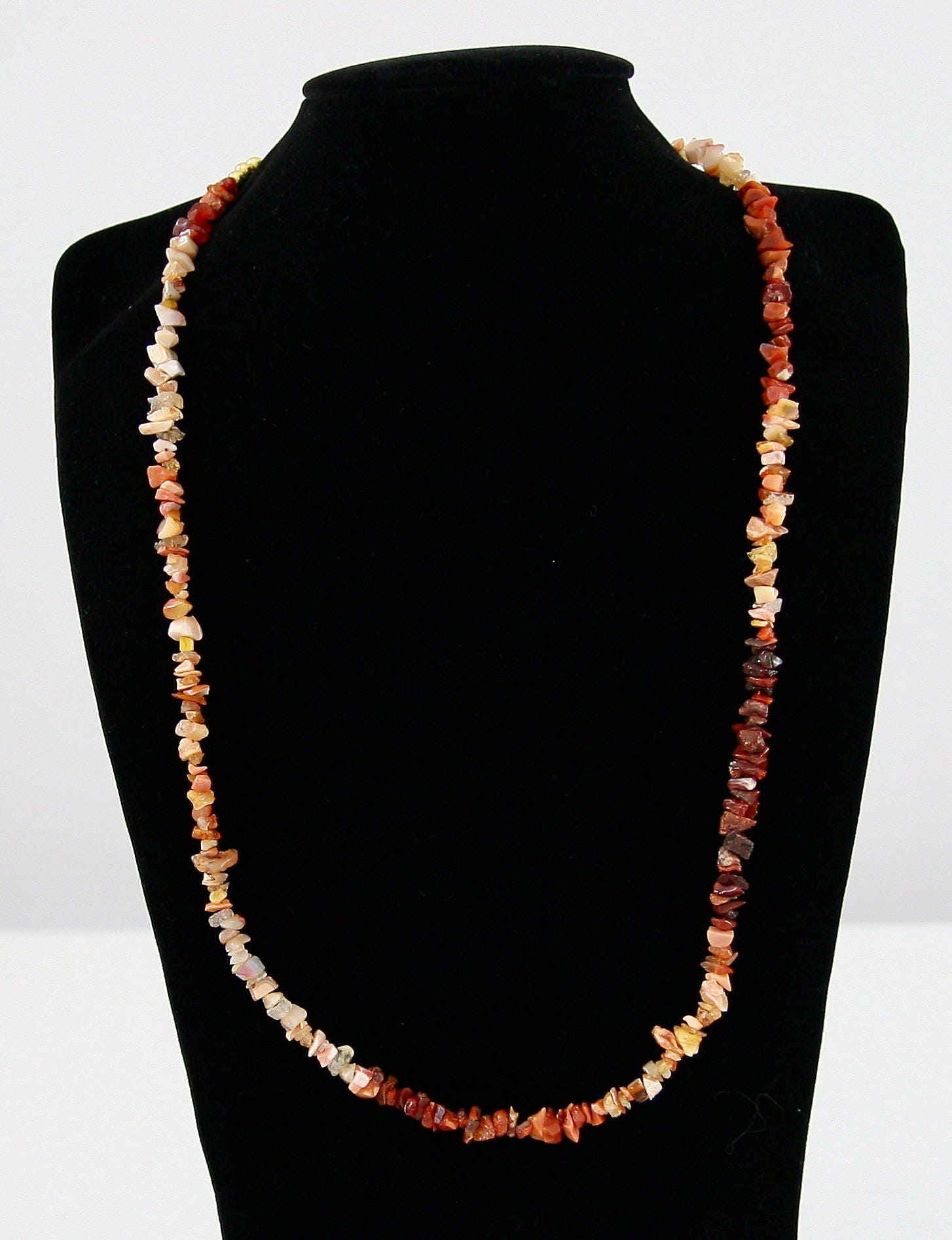 white fire opal shop crown peermont necklace