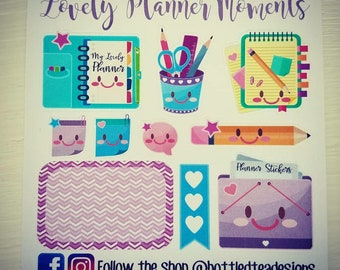 Lovely Planner Moments // Monthly Freebie // Item #FB018