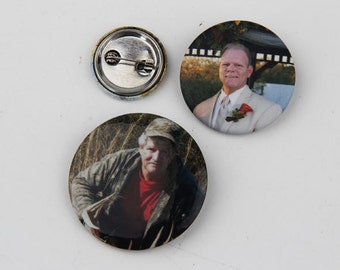 "200 2.25"" Custom Buttons Pins Badges - Button Badge- Custom Buttons- Personalized Buttons Pins Badges"