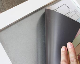BEAUTIFUL WHITE Magnet Board