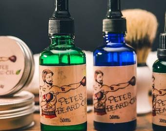 Pete's Beard Oil Cherry Scent