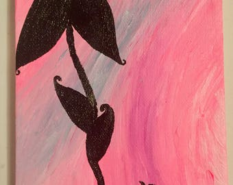 Growth-an original acrylic painting