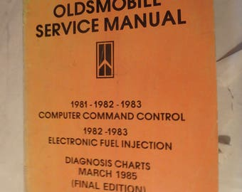 1983 Oldsmobile service manual computer command, fuel injection & diagnosis