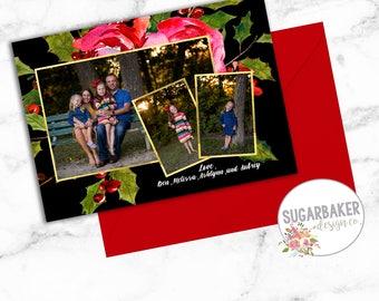 Custom Christmas Card for Melissa