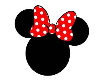 Disney svg, minnie bow svg, minnie mouse svg, minnie svg, cartoon svg, svg file for cricut, silhouette, svg files, svg
