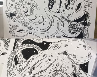 Double Sided A5 Octo-Prints