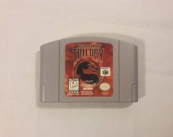 Original Nintendo 64 Mortal Kombat Trilogy