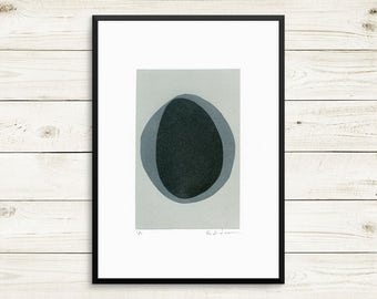Small grey art, small abstract art, small art prints, small wall art, small fine art, grey wall art, grey wall decor, monotype prints