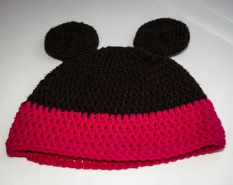 Hat pattern baby girl, size newborn to 6 months