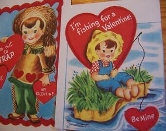 2 darling vintage valentines