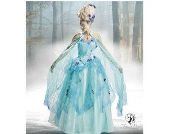 Simplicity Pattern 8629 Misses' Fairy Princess Gown Costume-Plus Size 14-22