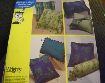 Sewing Pattern - Sewing Patterns For Dummies 9873 - Pillows In Various Sizes