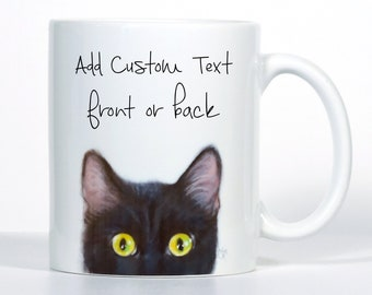 Cat Mug, Cat Gift, Pick Cat Color
