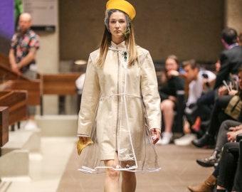 Two layers raincoat