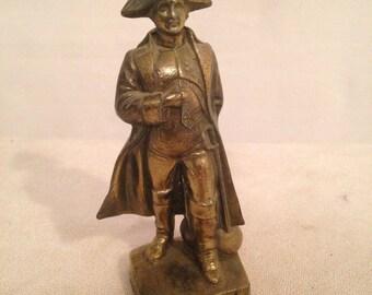 NAPOLEON BONAPARTE H15cm antique Spelter Statue figurine