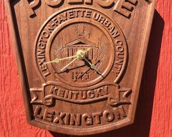 Lexington KY Police clock
