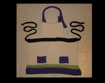 Childs Kids Buzz Lightyear Inspired Apron, Multisized, Adjustable Strap, Ready to ship