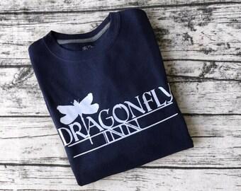 Gilmore Girls Dragon Fly Inn Shirt or Sweatshirt | Gilmore Girls TV Show | Lorelai and Sookie's Inn | Cute and Cozy Tee or Sweatshirt