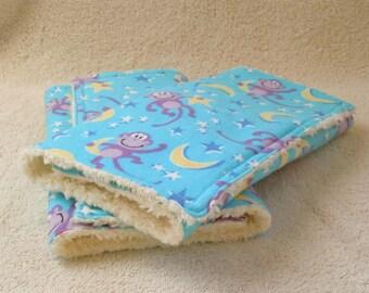 Monkey Stars- Burp Cloth Set Ready to ship, Gender Neutral, Burp cloths, Feeding, Baby Shower gift, flannel, soft and fluffy, monkeys, stars