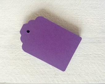 Purple Gift Tags- Light Purple- Lilac Purple- Dark Purple-50-100-Hang Tags-Price Tags-Blank-Craft Punch