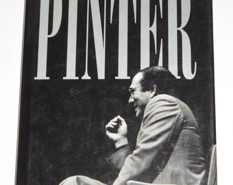 1994 Conversations with Pinter by Mel Gussow  VINTAGE hardcover book
