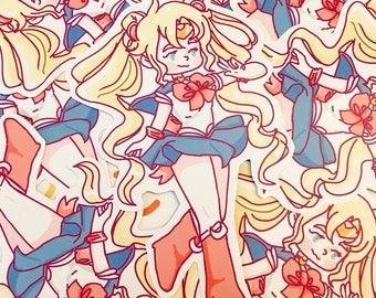 Single Sticker - Sailor Moon/ Usagi Tsukino